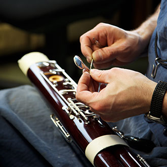 decorative picture bassoon repair