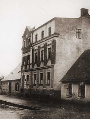 Workshop and residential building »Am Graben« Graslitz around 1920