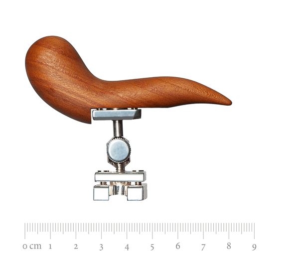 Adjustable handrest set, Spiri, plumtree wood, Püchner