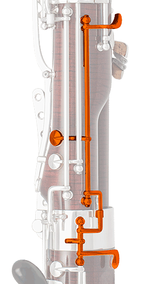Eb key to be operated on the boot joint